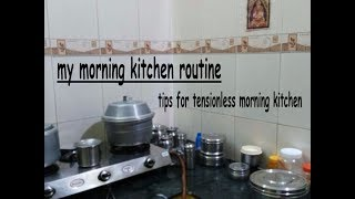 My Morning Kitchen Routine   Tips For Tensionless Morning kitchen