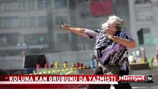 GEZİ PARKI İÇİN TAŞ ATAN TEYZE HASTANEYE KALDIRILDI!!!!