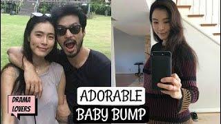 6か月で、カヒは彼女の愛らしいベビーバンプのD線を見せた | Kpop Lover...