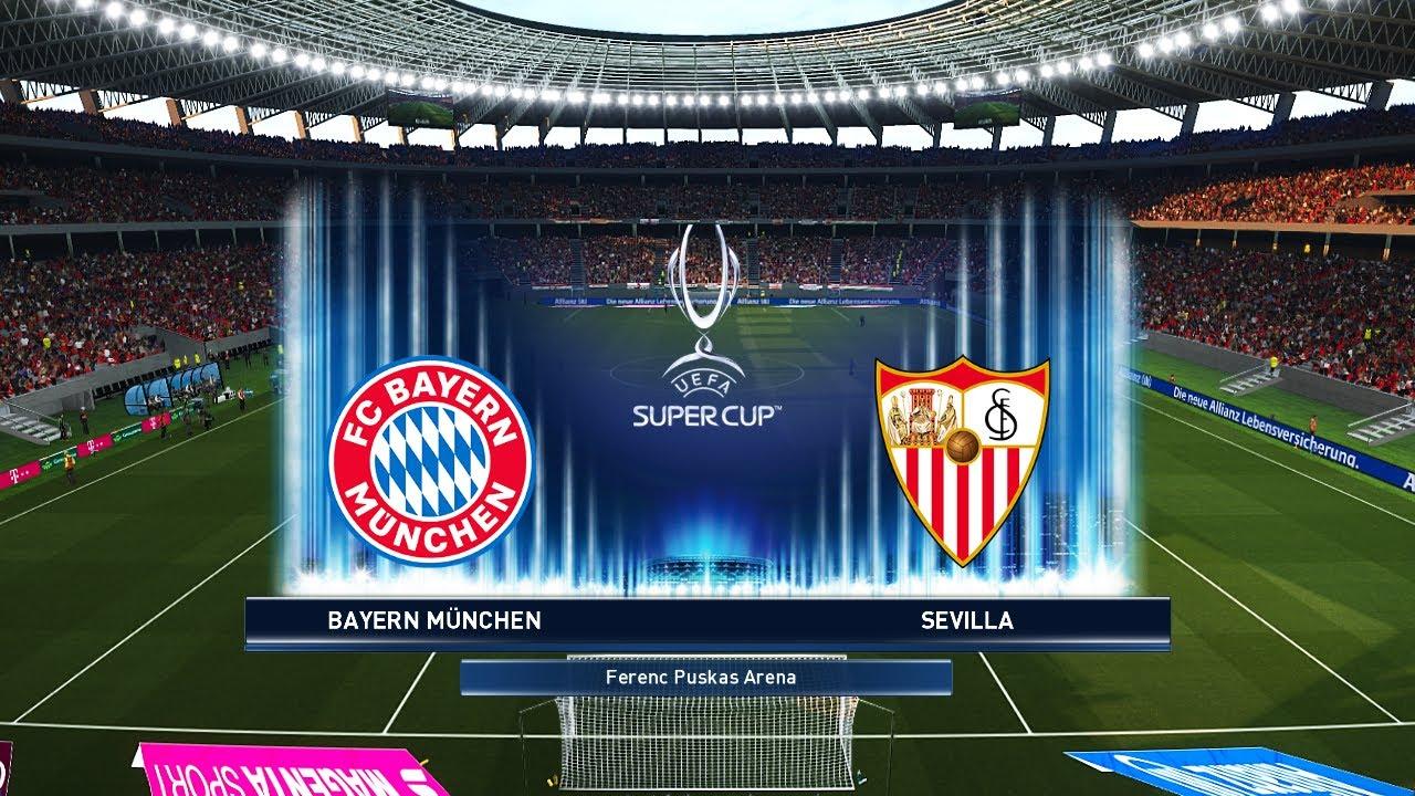UEFA Super Cup 2020 Final - Bayern Munich vs Sevilla Prediction