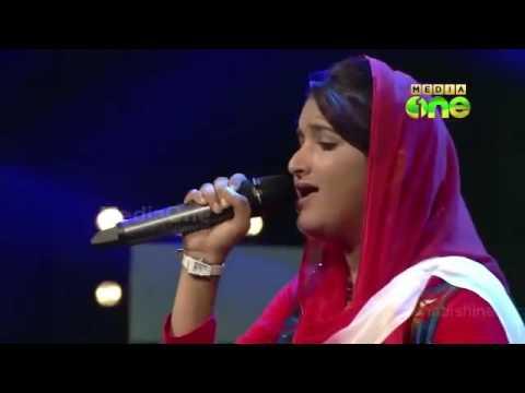 Riyana Rameez | Rasoole Rasoole Sanmaraga Pratheekame | Pathinalam Ravu Mappila Songs