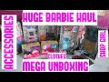 Barbie Clothes Haul from Walmart ! Doll Outfits + Doll Accessories UNBOXING