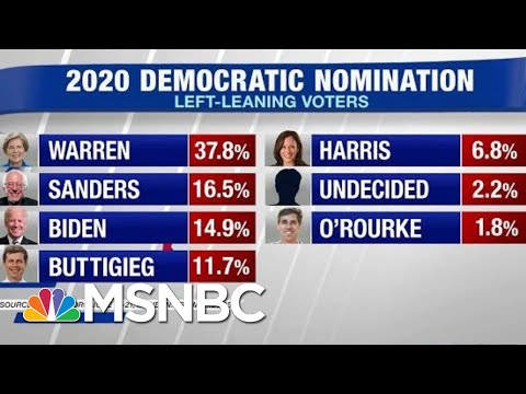 Elizabeth Warren Jumps Out To A Big Lead In MoveOn Poll | Hardball | MSNBC