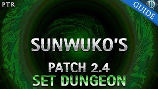 diablo 3 sunwuko s set dungeon guide patch 2 4