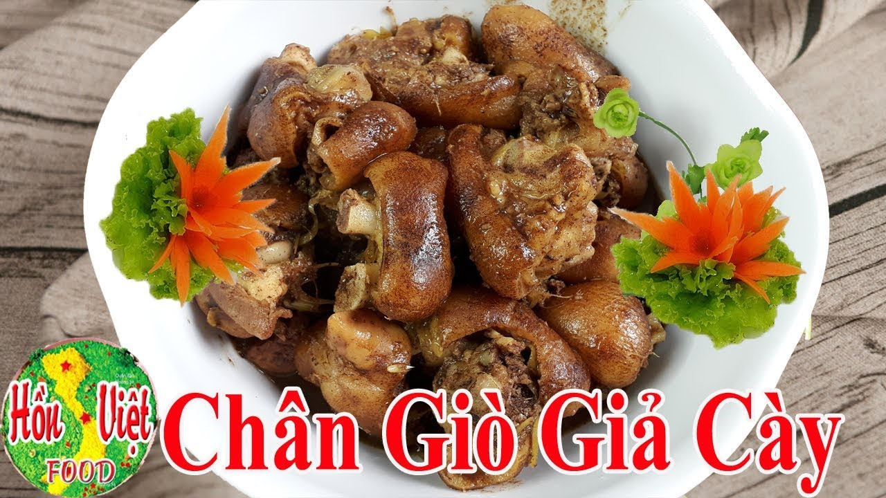 ✅ Bí Mật Trong Cách Nấu Chân Giò Giả Cày Ngon Hết Ý Ít Người Biết | Hồn Việt Food