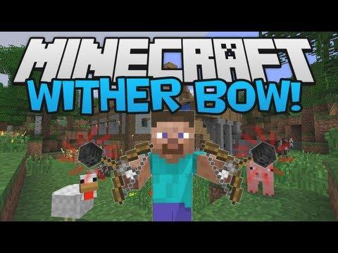 Minecraft 1.5 MOD Mania! ► Wither Bow Mod!