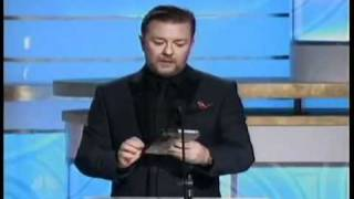 Ricky Gervais hosting the 2010 Golden Globes All of his good bits chained MP3