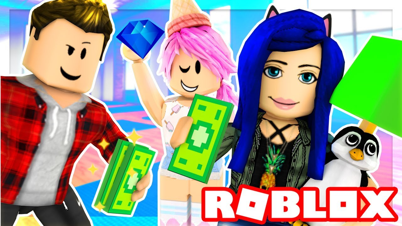 Itsfunneh Videos Roblox Family Bloxburg Roblox Family We Go Shopping For Our Rooms You Won T Believe What We Found Roblox Roleplay Youtube