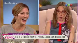 Paula Cháves en el diván de Vero - Cortá por Lozano 2019