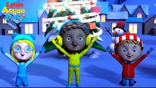Jingle Bell Rock | Children's BEST Christmas Songs | Sing & Dance Along with Little Action Kids