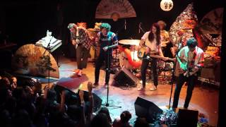 The Growlers Live in NYC (feat. chinese lion dancers)