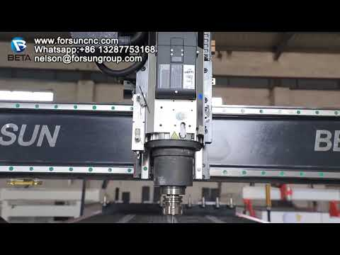 New Automatic Tool Change Wood CNC Router with SIEMENS ...