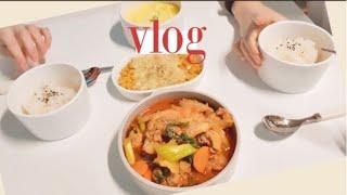 (ENG) vlog 집순이 자취생 요리 일상 브이로그 …