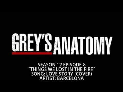Grey's Anatomy S12E08 - Love Story (Cover) by Barcelona