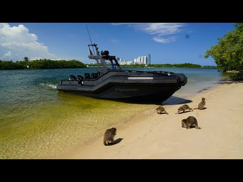 A Crooks Nightmare 100% Plastic Military Boat ! (DGS Monster 28)