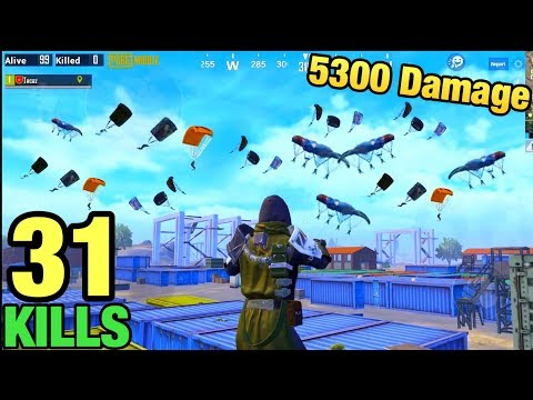 NEW WORLD RECORD 5300 DAMAGE!!! | 31 KILLS SOLO VS SQUAD | PUBG MOBILE