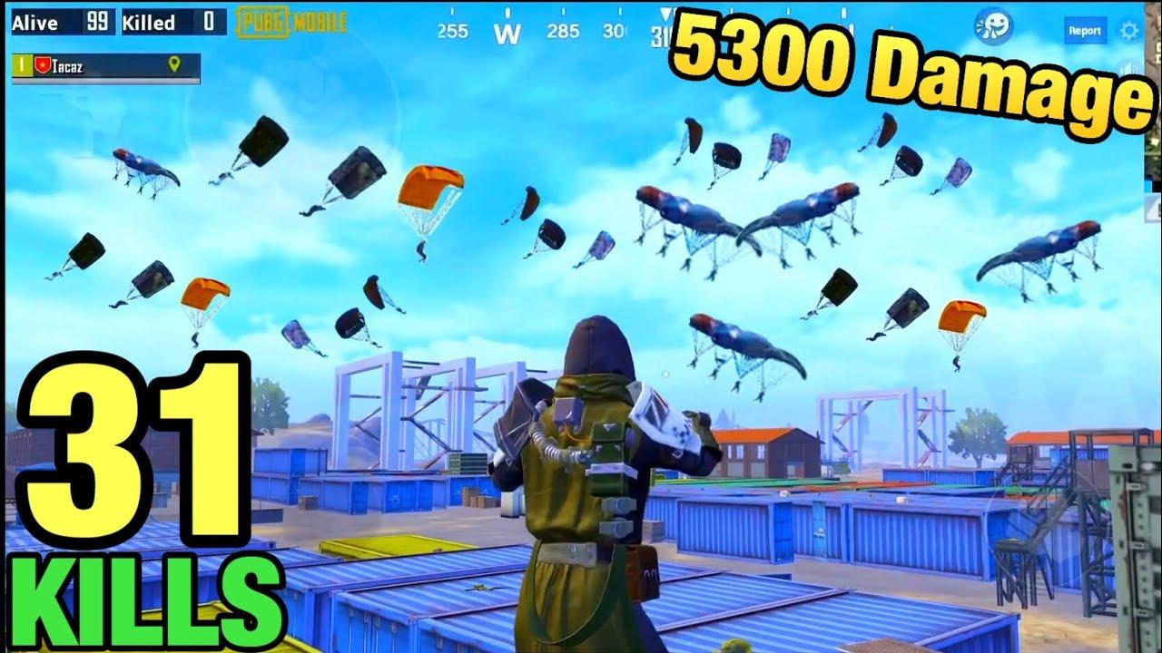 NEW WORLD RECORD 5300 DAMAGE!!! | 31 KILLS SOLO VS SQUAD | PUBG MOBILE