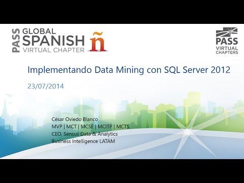 Implementando Data Mining Con SQL Server 2012