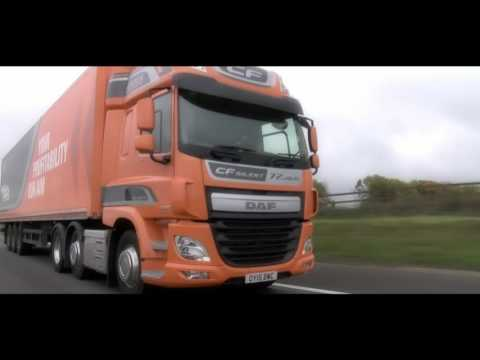 DAF Trucks UK | DAF XF & CF Updates for 2016 | Driver Training Video