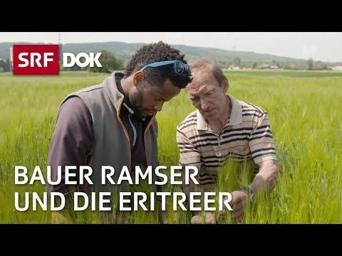 Bauer Ramser und die Eritreer   Flüchtlingsintegration in der Schweiz   Doku   SRF DOK