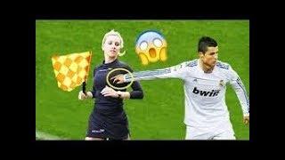 لقطات محرجه للنساء تثبت ان لا يمكنهم لعب كرة القدم