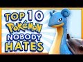Top 10 Pokemon Nobody Hates