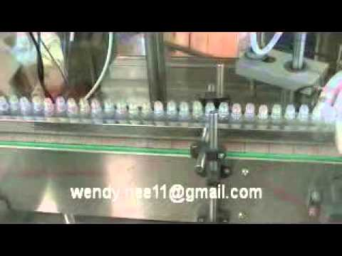 Automatic 10ml e-liquid/e-cig Filling Production Line(Unscrambler+Filling+Plug+Capping)