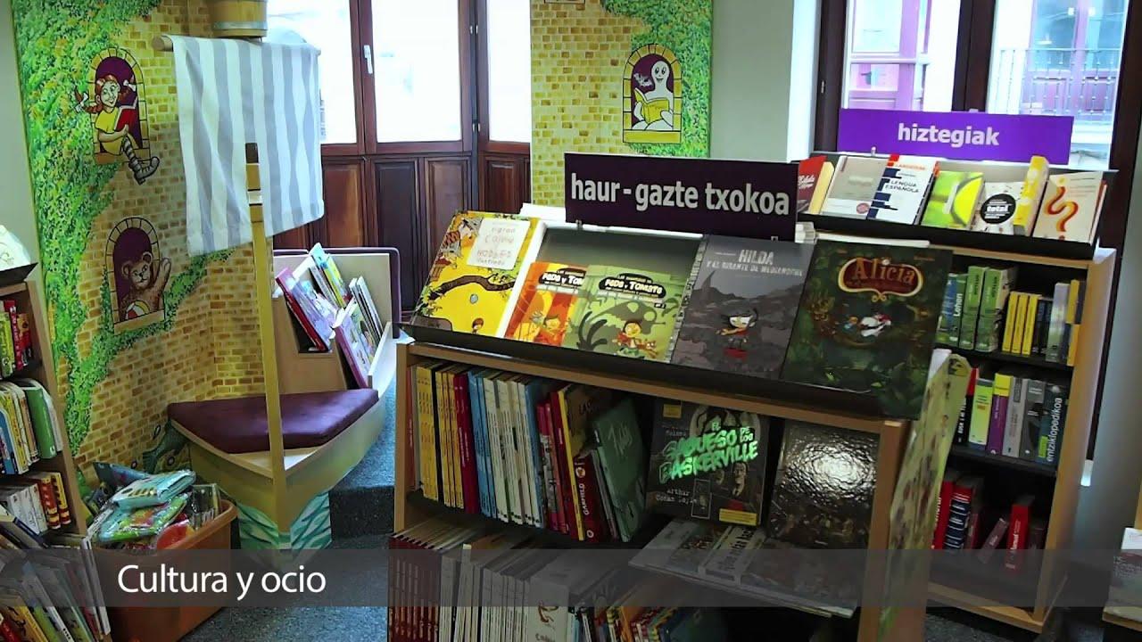 Elkar libreria casco viejo de bilbao youtube for Libreria nautica bilbao