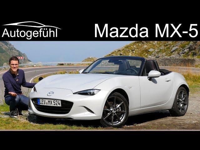 Mazda Mx 5 Miata Facelift On The Spectacular Transarasan Road Full Review 2019 Autogefühl You