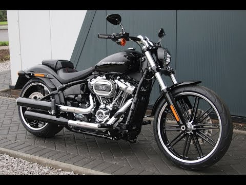 2018 harley davidson softail breakout 114 vivid black wchd glasgow scotland youtube. Black Bedroom Furniture Sets. Home Design Ideas