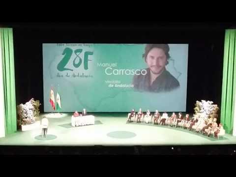 Entrega medalla de Andalucía a Manuel Carrasco 2016