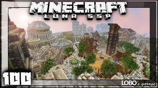 Minecraft Survival #100 | MASSIVE WORLD TOUR!!! | 18 Months Progress | Luna SSP