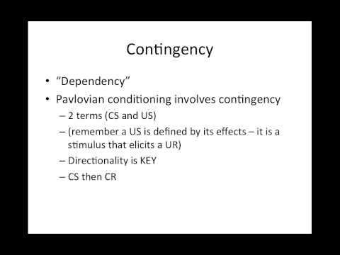 Chapter 5 Three Term Contingency