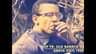 US PRESIDENT BARACK OBAMA & HIS DAUGHTER MALIA SMOKING WEED
