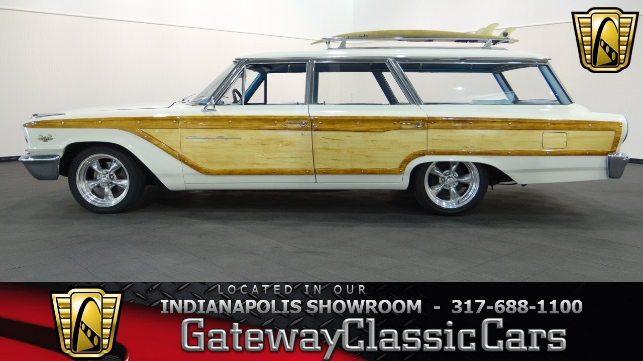 1963 Ford Country Squire - Gateway Classic Cars Indianapolis - #461NDY