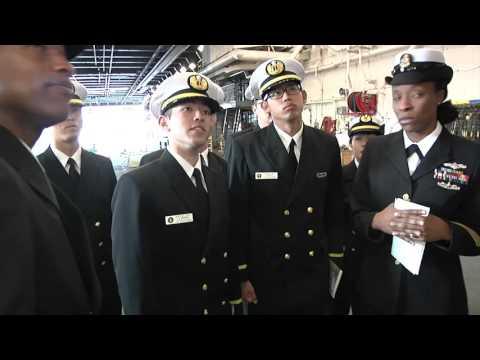 USS Green Bay Hosts Huge Tour