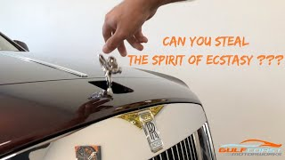 Can You Steal The Spirit of Ecstasy on a Rolls-Royce Ghost? Slow motion clips too!