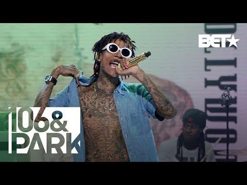106 and Park Presents : Wiz Khalifa performing