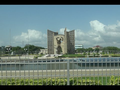 Togo Independence Monument & Square in Lome City - Nov 2017 Roots Tour