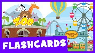Learn Places Vocabulary | Talking Flashcards