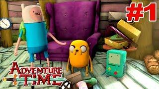 Adventure time finn and jake investigations: Início - Legendado em Português [XBOX 360].