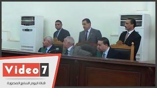 بالفيديو.. السجن المشدد 10 سنوات لأحد المتهمين فى قضية