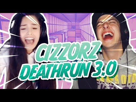 I TRY CIZZORZ'S DEATHRUN 3.0 + OUR REACTIONS *VOLUME WARNING*