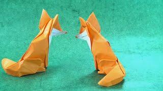 Origami Jumping Fox