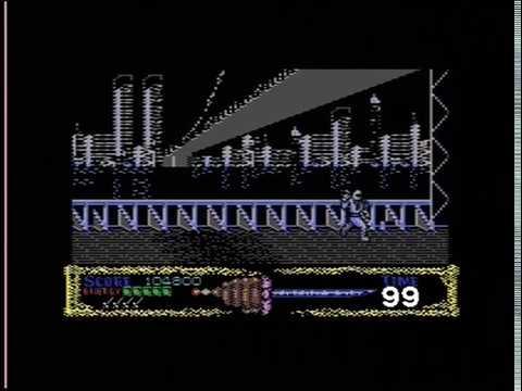 SHADOW WARRIORS (C64 - FULL GAME)