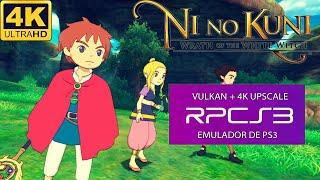 NI NO KUNI (RPCS3) | I7 4790K + GTX 1070 | RODANDO EM 4K + LINKS