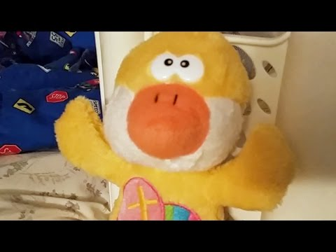 Funny Stuffed Animal Video: Jesus Loves Me Stuffed Duck