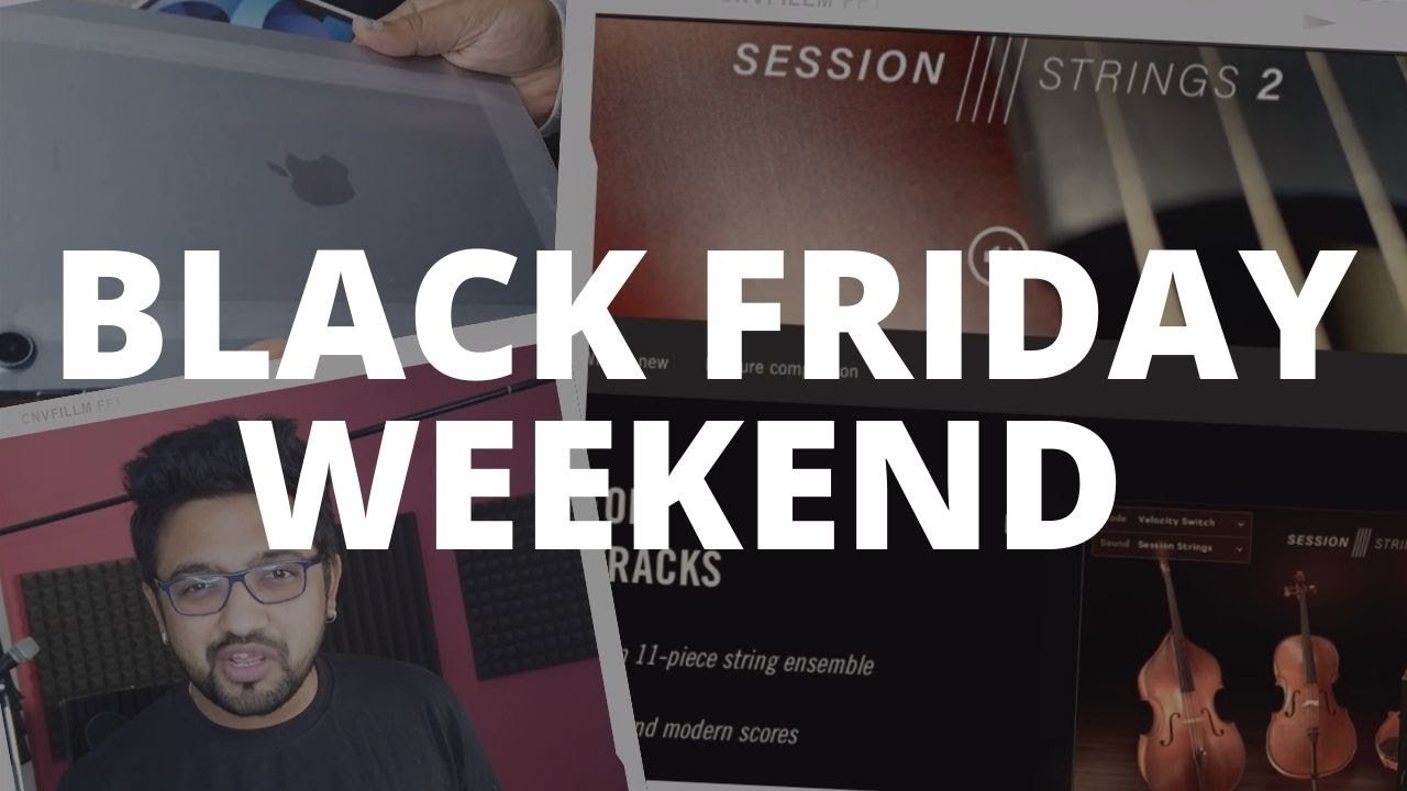 Black Friday Weekend In The Life Of A Music Producer