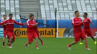 Austria training at the Stade de Bordeaux - 13.06