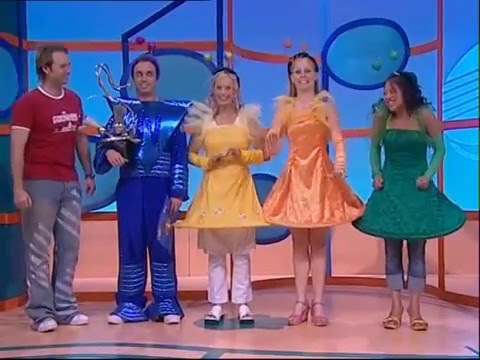 Hi-5 Tim Outer Space Singing Group